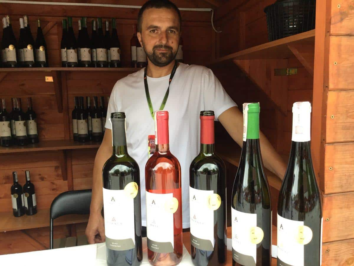 Amelie Winery at Wine Days Festival 2018 in Jaslo, Poland