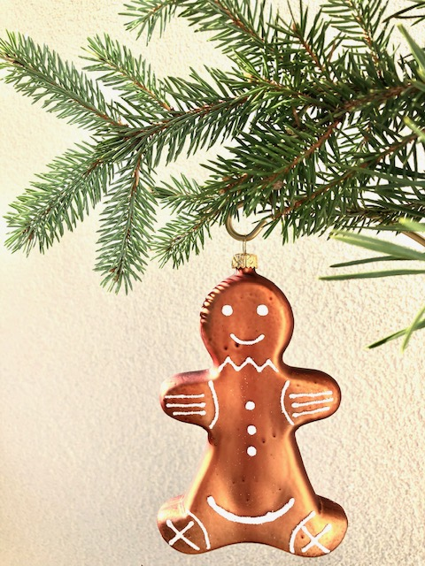 Gingerbread boy front