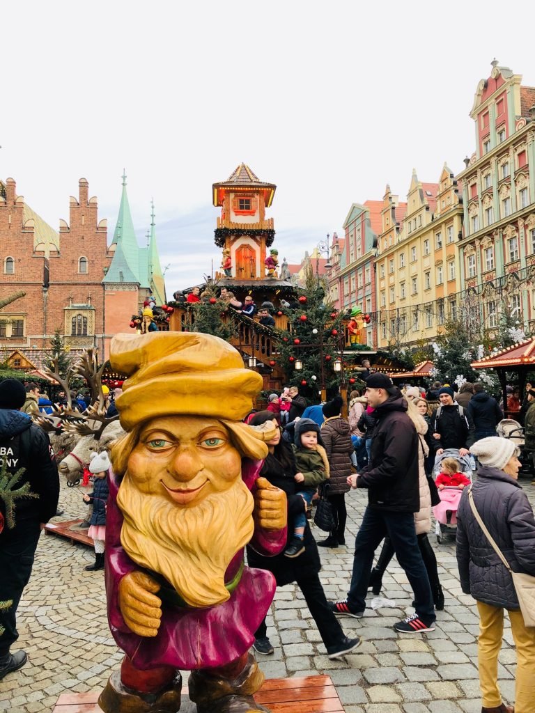 Christmas Market in Wroclaw, Poland